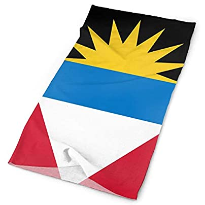 National Flag Antigua and Barbuda Headband Unisex Headwrap Magic Head Scarf Bandana Headwear Neckerchief Sun Guard Hairband Travel Headdress Wristband Face Mask Neck Gaiter Estimated Price -