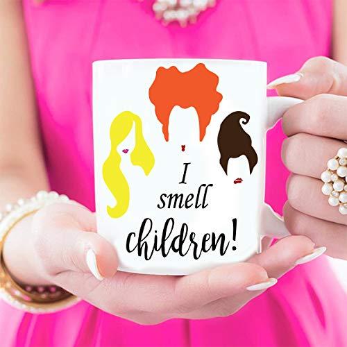 Hocus Pocus Mug, Halloween Mug, Fall Mug, Mug For Fall, Witch Mug, I Smell Children, Hocus Pocus Gift, Halloween Party -