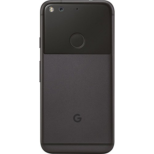 """Pixel Phone by Google - 32GB - 5"""" inch - Android Nougat - (GSM Only, No CDMA) Factory Unlocked 4G/LTE Smartphone (Quite Black) - International Version with No Warranty"""