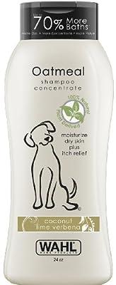 Wahl 820004T Oatmeal Shampoo, Coconut Lime Verbena