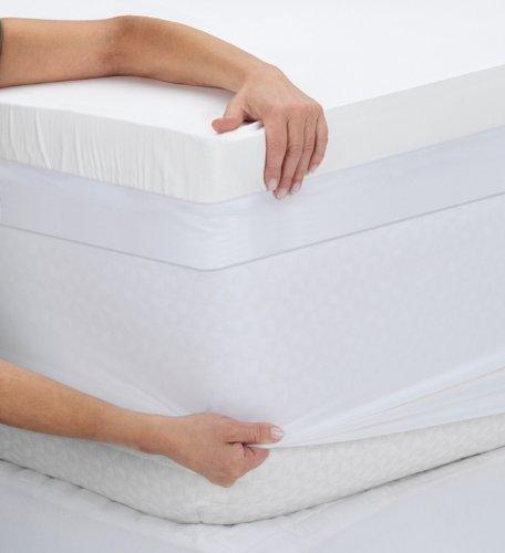 Sleep Innovations 3-Inch Sculpted Memory Foam Full ...