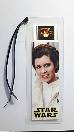 STAR WARS PRINCESS LEIA Movie Film Cell Bookmark - Complements dvd poster book