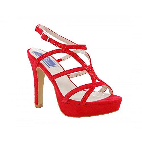 Ballerine Benavente Rosso Benavente 110011 110011 Rosso Ballerine Donna Donna vAAzRW0T