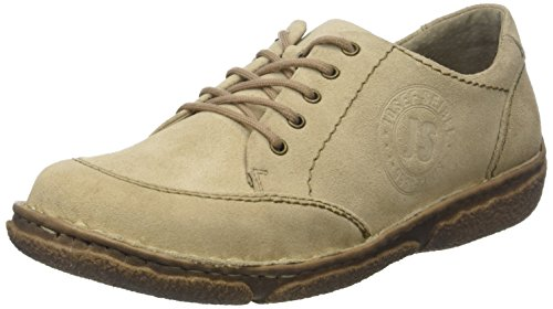 02 creme Cordones Beige Zapatos Mujer Seibel Josef Derby Para 230 De neele Smu xtanOZ