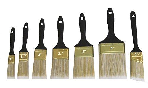 Latex Satin Finish Premium Paint (7 Piece Paint Brush Set - 1
