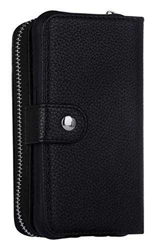 Hynice Magnetic Detachable Leather Lichi Black product image