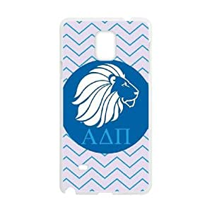 Alpha Delta Pi Purple Lion Samsung Galaxy Note 4 Cell Phone Case White DIY gift pp001-6397432