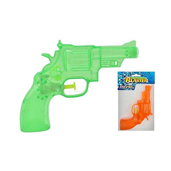 KandyToys-Pistola ad Acqua Trasparente Neon 3 Asst Cols Hydrostorm, TY2310 1 spesavip