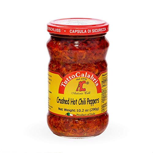 Crushed Calabrian Chili Pepper Paste 10 oz (290 g) by TuttoCalabria