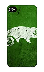 Freshmilk Fashion Protective Green Lizard Case Cover For Iphone 5/5s