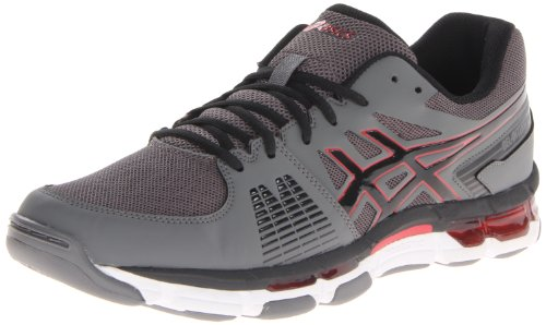 Cheap ASICS Men's Gel-Intensity 3, Titanium/Onyx/Red, 9 M US