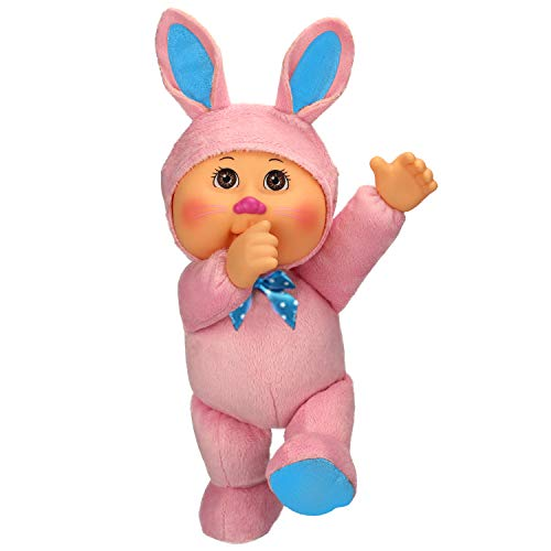 Cabbage Patch Kids Cuties Ava Bunny 9 Inch Soft Body Baby Doll - Garden Party - Bunny 9 Inch