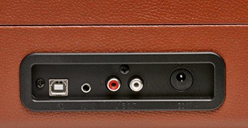 Denver VPL-120 BR - Tocadiscos Retro, Color Marron