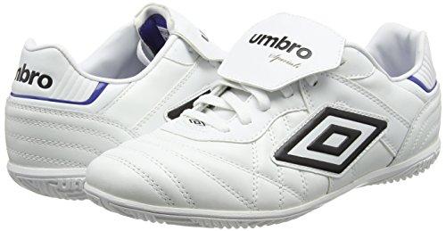 Umbro Speciali Eternal Premier Ic, Botas de Fútbol para Hombre Blanco (white/black/clematis Blue)