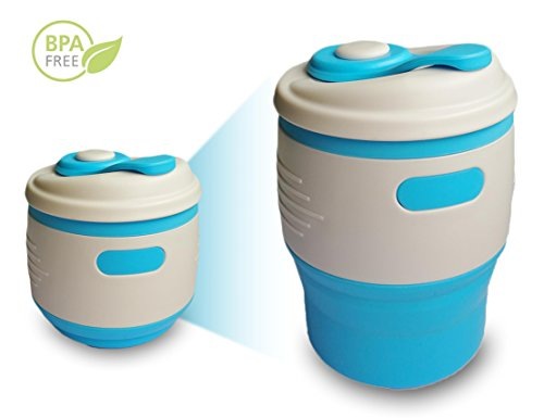 Foldable Collapsible Food Grade Portable Leak proof product image