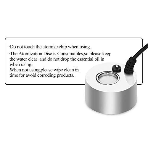 AGPtek® Aluminum Mini Mist Maker Fogger Water Fountain Pond Fog Machine Atomizer