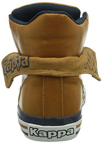 Kappa BARON Footwear unisex - zapatillas deportivas altas de material sintético unisex marrón - Braun (5467 cognac/navy)