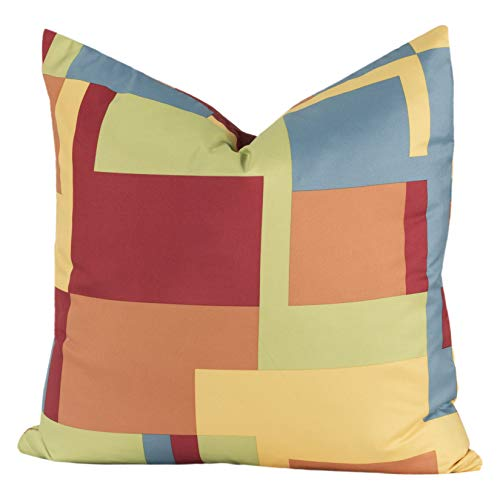 Crayola Paint Box Multicolor Polyester Decorative Throw Pillow Large 20 x ()