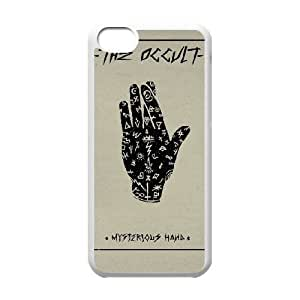 iPhone 5c Cell Phone Case White MYSTERIOUS HAND J4C4CW