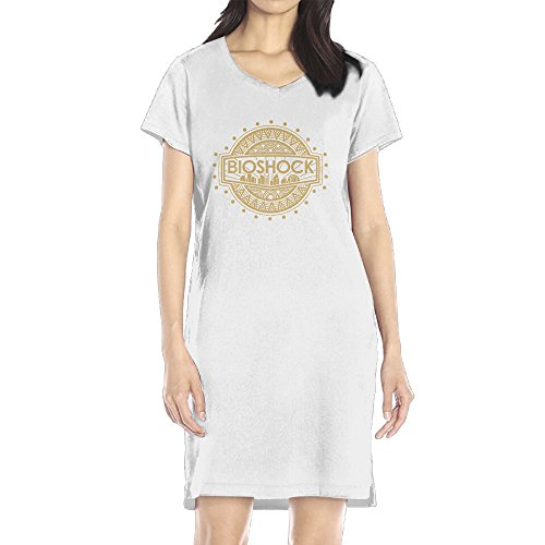 Price comparison product image AIJFW Bioshock Logo Women's V-neck Dress Top