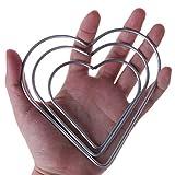 Yziss Craft Metal Star/Heart Shaped Rings Metal