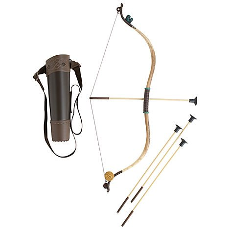 Disney Store Brave Merida Archery Bow and Arrow Costume Accessories Set