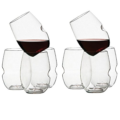 GoVino Glass Flexible Shatterproof Recyclable