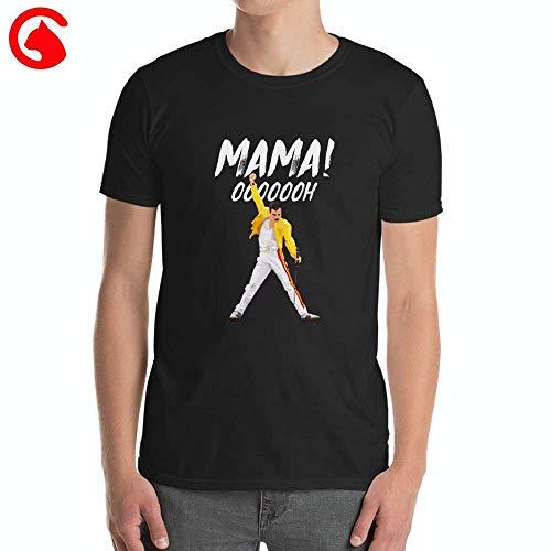 (CatixFashion In Memory of Freddy Mercury Mama Oh You Tee Gift Rock Legends Clothing Unisex Classic T Shirt)