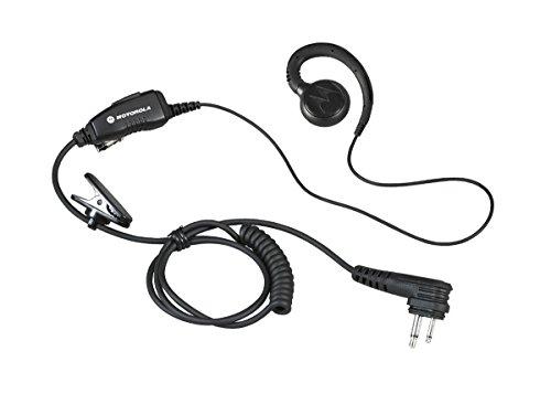 Motorola HKLN4604 HKLN4604A HKLN4604B Original Motorola Swivel Earpiece with Microphone and PTT - Replaces RLN6423