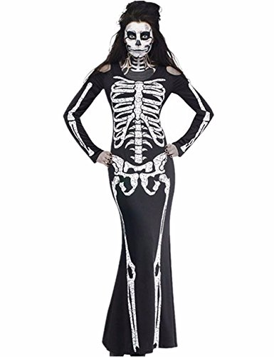 Ruiyige Scream Horror Movie Womens Halloween Fancy Dress Adults Costume Outfit