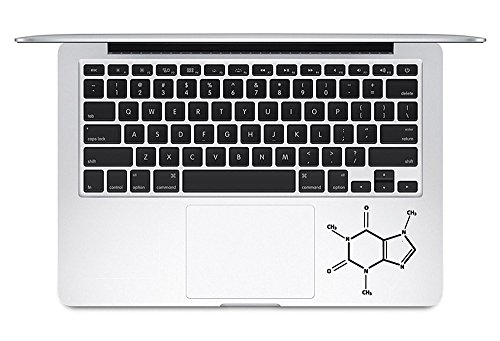 Caffeine Molecule Trackpad Keyboard Decal The Last Airbender Apple Macbook Trackpad Keyboard Vinyl Decal Sticker Apple Mac Air Pro Laptop Sticker