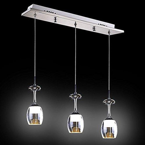 Fuloon Elegant Glass Pendant Lights