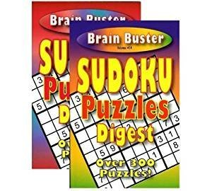 Brain Teasing Sudoku Puzzle Book Digest Size  Case Pack 48 by bazic
