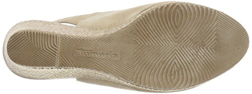 Tamaris 29303 nature Beige Back Sling Women''s 318 Sandals r5wqr7