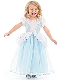 Deluxe Cinderella Dress Up Costume For Girls