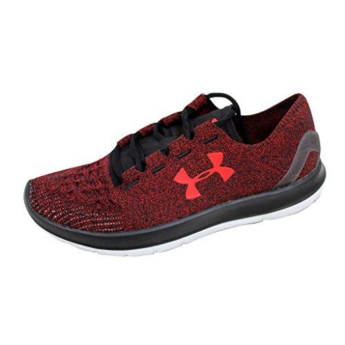 Under Armour Speedform Slingride Running Shoe - Mens Anthem Red/Black/Anthem Red, 11.0