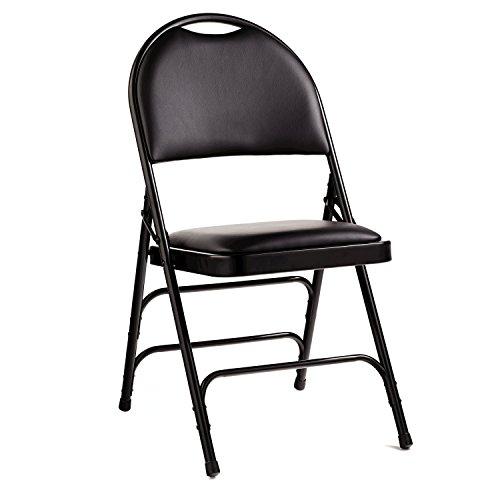 Samsonite 57311-1050 Comfort Series Padded Fabric Folding Chairs, Set of (Samsonite Fabric Chair)