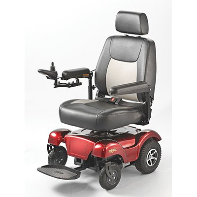 Merits P310 Rear Wheel Drive Power Chair - P310 Regal - Weight Capacity 300 lbs