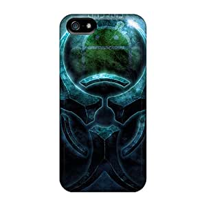 Fashion Design Hard Case Cover/ RCh1536GjzW Protector For Iphone 5/5s