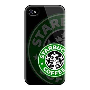 Hard Plastic Case For Sumsung Galaxy S4 I9500 Cover Back Covers,hot Starbucks Logo Cases At Perfect Customized