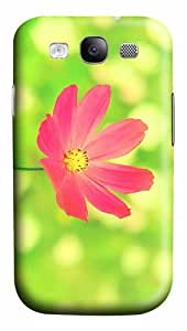 case popular pink cosmos flower PC case/cover for Samsung Galaxy S3 I9300