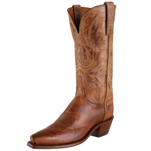 - 1883 by Lucchese Women's N4540 5/4 Western Boot,Tan Burnished,7 B(M)US