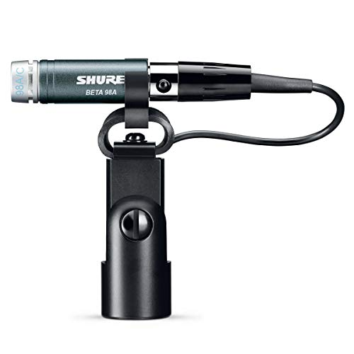 (Shure Beta 98A/C Miniature Cardioid Condenser Instrument Microphone (Includes RPM626 In-Line Preamplifier, RK282 Shock Mount Swivel Adapter and 15' Triple Flex Cable))