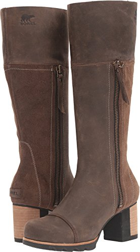 Sorel Addington Tall Boot - Women's Umber / Black 8