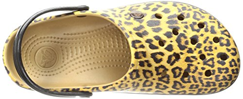 Clog Camel Marrone a II Sandali Crocs Crocband Leopard Chiusa Punta Donna CqFAt1