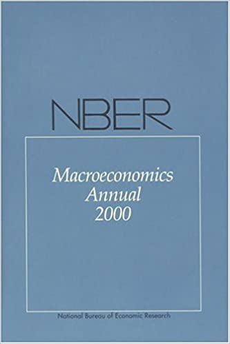 image for NBER Macroeconomics Annual 2000 by Kenneth Rogoff (2001-02-19)