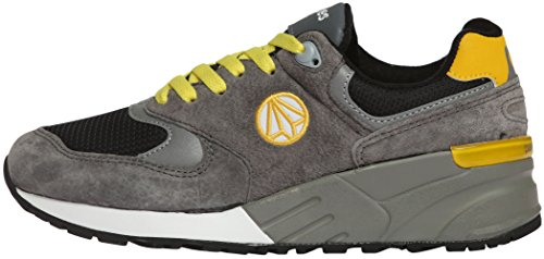 Sneakers Tall Shoes 3M Gray Unisex Up Yellow Luminous 1156 Fashion Paperplanes nxaO4Z1Z