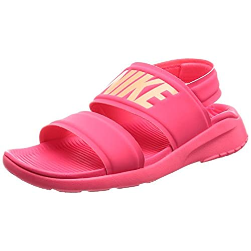 Nike Wmns Tanjun Sandal Racer Pink Women Slip On Shoes Flip Flops 882694-600 Durable Service Women's Shoes