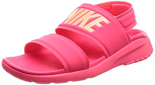 NIKE Womens Wmns Tanjun Sandal, Racer Pink/Sunset Glow Racer Pink/Sunset Glow