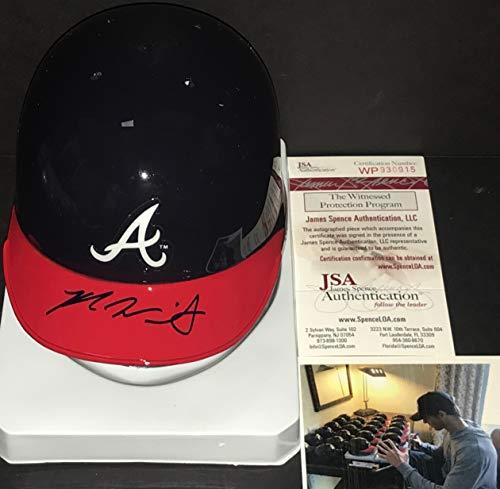 Kyle Wright Atlanta Braves Autographed Signed Mini Baseball Helmet JSA WITNESS COA